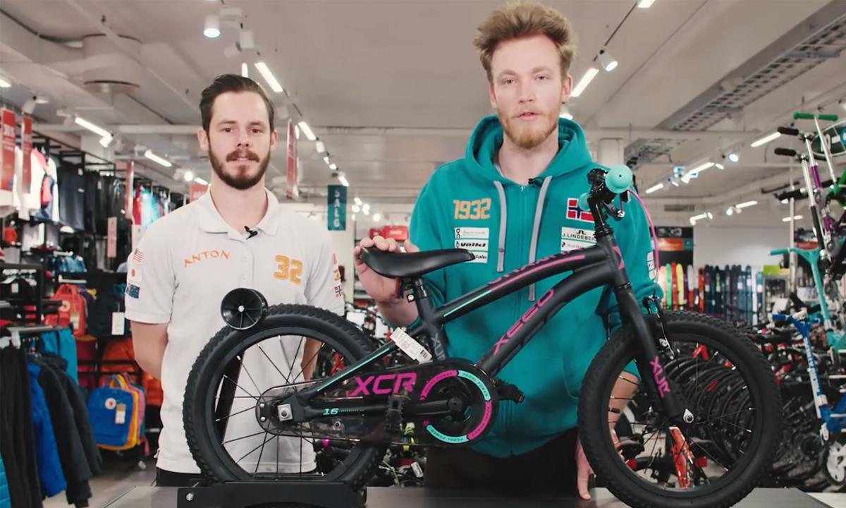 Enormt Se denne videoen før du kjøper sykkel til barnet ditt - CC vest HM-45